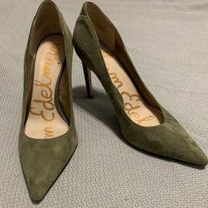 Green Sam Edelman heels